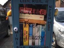 Dreischor krijgt nieuwe minibieb vol kinderboeken