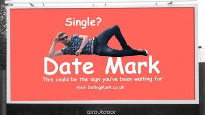 Hopeloze vrijgezel (30) zoekt date via gigantisch reclamebord en wordt overstelpt met kandidaturen