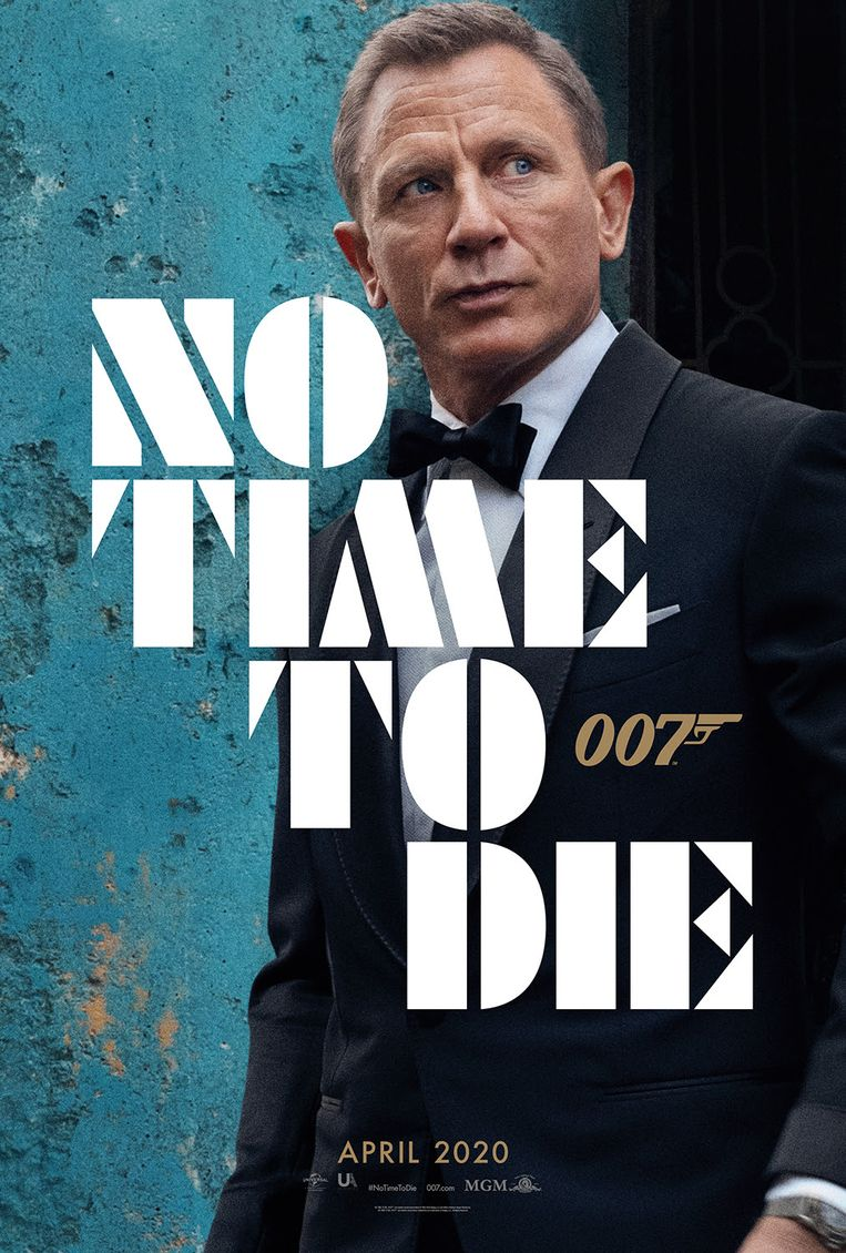 No Time To Die - filmposter