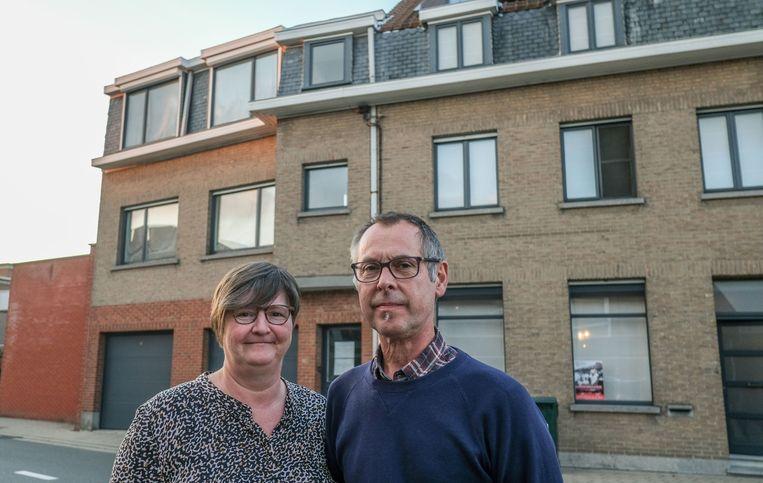 Bibliothecaris Katrien Bonte en haar man Dirk Pinoy openen Gasthuis 2.0