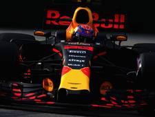 Derde plek Verstappen, Ricciardo het snelst in eerste training