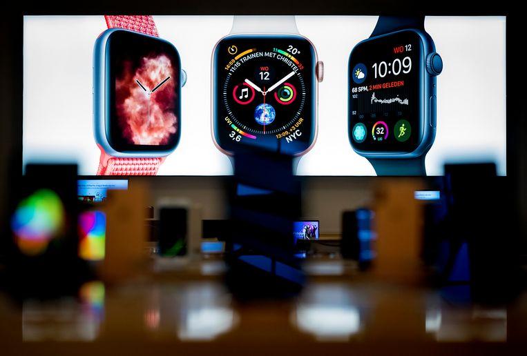Een smartwatch van Apple