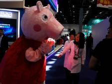 Peppa Pig is te gangster voor China