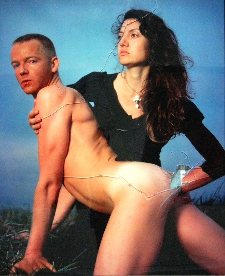 Andres Serrano: The fisting (1996). Beeld Rechtenvrij