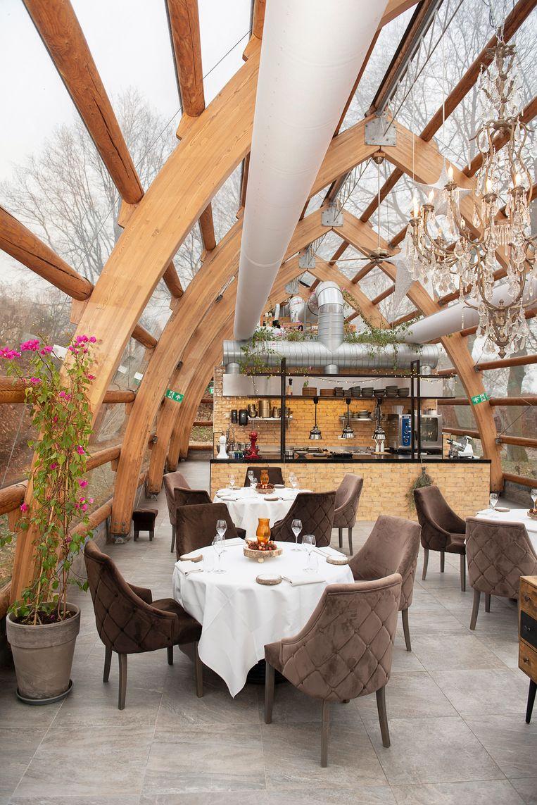 Restaurant Orangerie De Pol in Doetinchem. Beeld Els Zweerink