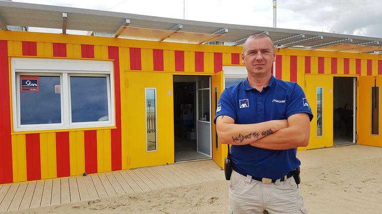 Hoofdredder Vincent Geerardyn van De Panne is onthutst over het vandalisme.