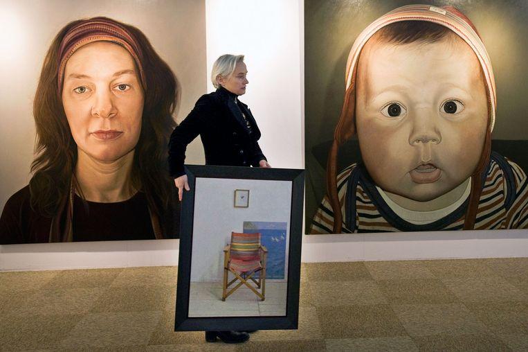 REALISME is de beurs voor hedendaagse figuratieve kunst. Beeld Erik van 't Woud