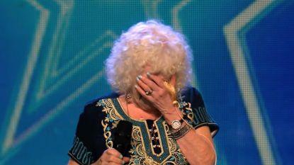 Ongezien: 81-jarige oma verrast bij 'Got Talent' en krijgt golden buzzer