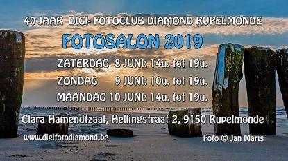 Digi- en Fotoclub Diamond viert veertigjarig bestaan met fotosalon
