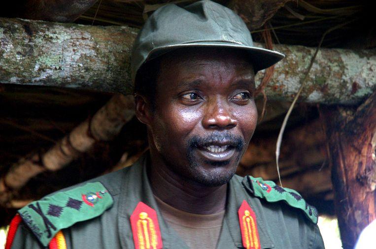 Joseph Kony in 2006. Beeld ap