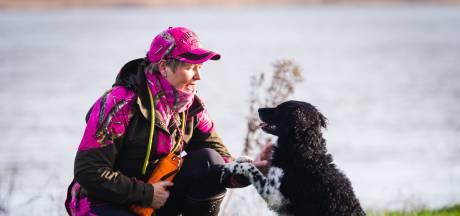 Hond Lobke jaagt op 'wild' voor het goede doel