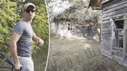 VIDEO. Urban explorers raken binnen in radioactief gebied in Wit-Rusland waar nucleaire wolk Tsjernobyl neersloeg en iedereen op de vlucht joeg