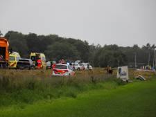 Motorrijder overlijdt bij ongeluk op de N272 in Oploo