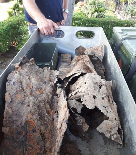 'Staart' gevonden in voortuin Millingen aan de Rijn, maar bom nog niet