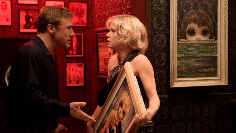Christoph Waltz en Amy Adams in 'Big Eyes'.