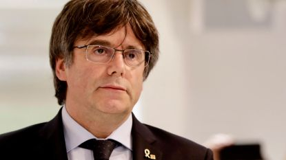 """Spaanse media: """"Puigdemont verschijnt voor Brusselse onderzoeksrechter"""""""