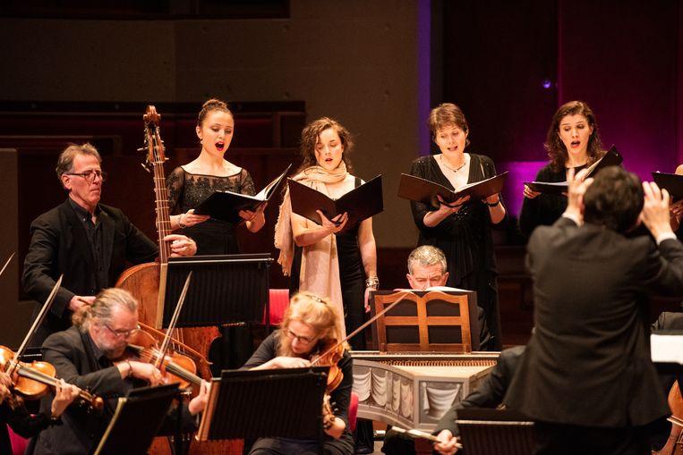 De Nederlandse Bachvereniging in Utrecht. Beeld Anna van Kooij