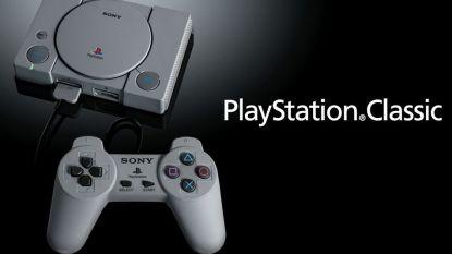 Sony introduceert PlayStation Classic van 100 euro
