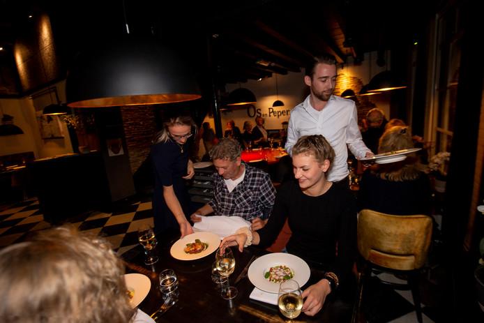 Over de Tong ging eten bij Os en Peper in Zwolle, sinds deze zomer in handen van Gramsberger Ard Slot.