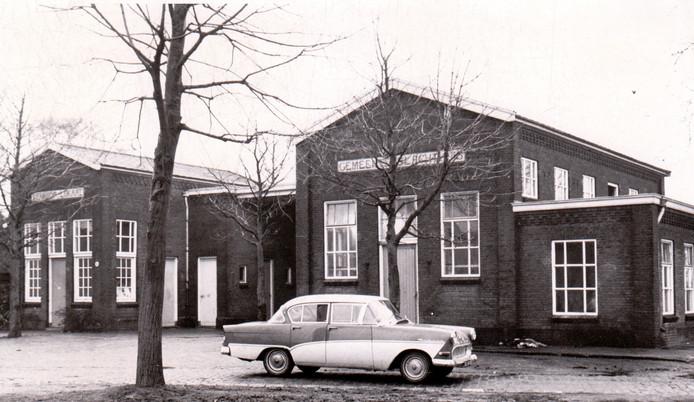 Het gemeentelijk slachthuis in Geldrop (1965).