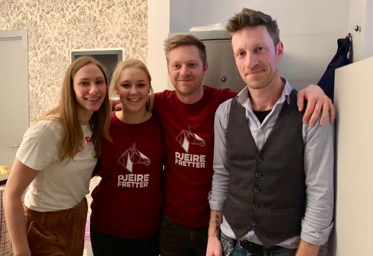 Opening Winterpop up Pjeirefretter 2019-2020 - Tapteam van dienst.