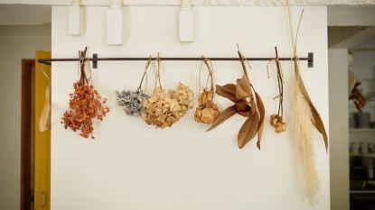 Gedroogde bloemen en potpourri maken comeback