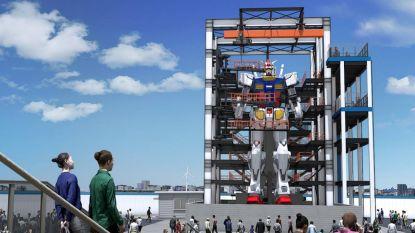 18 meter hoog, 25 ton en in staat om te 'wandelen': Japan werkt aan grootste humanoïde robot ter wereld