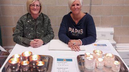 Kaarsjesverkoop Sint-Vincentiusschool bracht 2.600 euro op voor 'Boven de wolken'