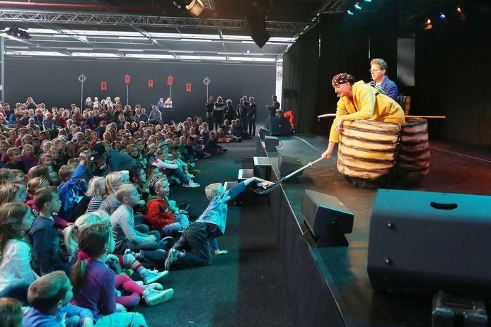 Hart van Holland in betere tijden, hier tijdens een optreden van het kindervriendenduo Ernst en Bobbie