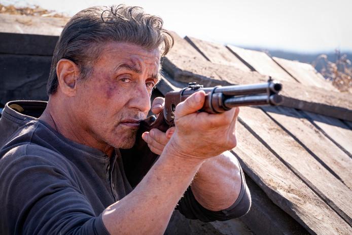 Sylvester Stallone als John Rambo.