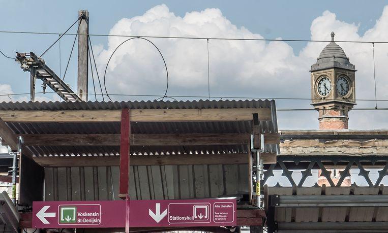 """Picture regarding the Belga article """"NMBS ?levert niet in op reizigerscomfort? station Gent-Sint-Pieters"""", distributed today, in GENT. BEST QUALITY AVAILABLE - BELGA PHOTO JONAS D'HOLLANDER"""