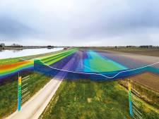 Waterschap Hollandse Delta speurt met unieke scantechniek naar zwakke plek in dijk