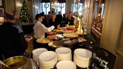 Cateraar geeft 350 kansarmen warm kerstfeest