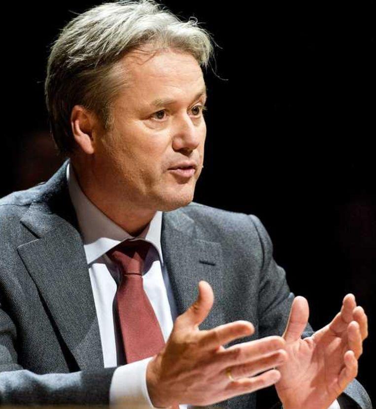 Henk Hagoort, voorzitter van de raad van bestuur van de NPO. Beeld null