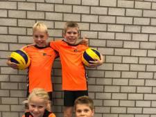 Volleybaltopper Kirsten Knip in Lemelerveld