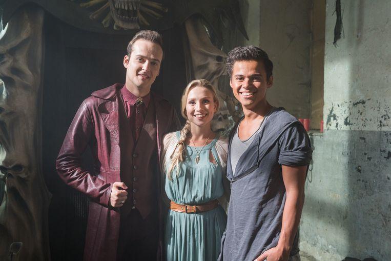 De drie hoofdrolspelers van 'Nachtwacht'