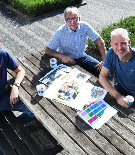 Robert maakt een vakantieboek voor Oosterhouters die thuis blijven: 'Mooie Keetje gaat wel op reis'