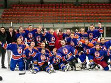 Eindhoven Icehawks ongeslagen studentenkampioen ijshockey