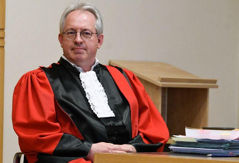 Advocaat-generaal Patrick Boyen vroeg en kreeg een aanhoudingsmandaat voor Lei B.