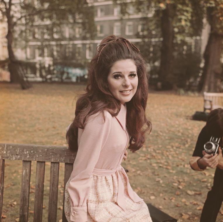 Bobbie Gentry in Londen in 1969. Beeld Getty Images