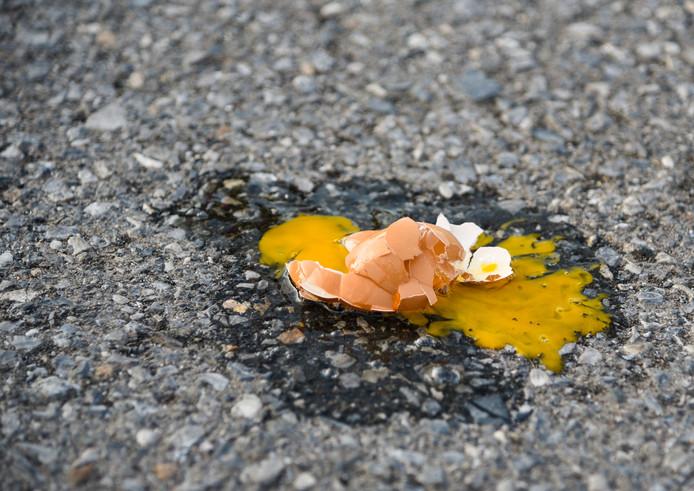 Op Tweede Paasdag zullen aardig wat eieren sneuvelen bij eier paintball.