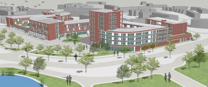 In de nieuwbouwprojecten Open Waard en Laning zijn extra sociale huurhuizen voorzien.