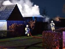 Brand in schuurtje in Schijndel, geen gewonden