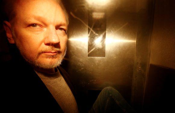 De WikiLeaks-oprichter riskeert in de Verenigde Staten 175 jaar cel.