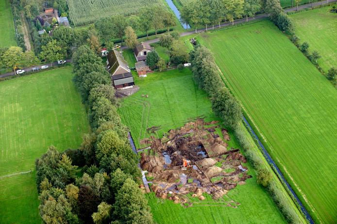 In september 2010 werd in het weiland achter de boerderij van Willekes pleegouders ook al gezocht naar het lichaam van het tienermeisje. De plek van de nieuwe graafactie bevindt zich in hetzelfde weiland.