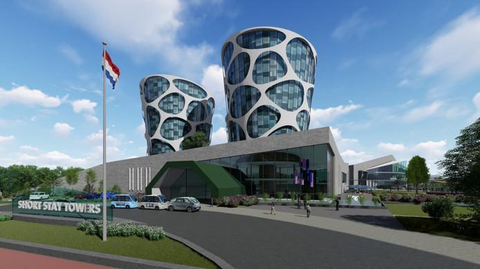 Hier kan dus wel een streep door, de campus die Lithium Werks op Technobase Twente wilde bouwen.