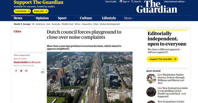 The Guardian schrijft ook over het Nijmeegse speelveldje