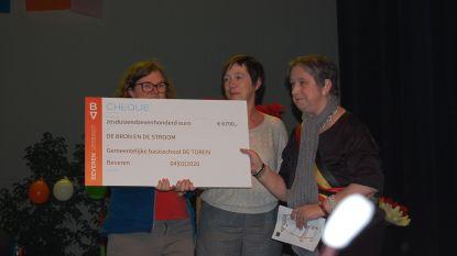 Leerlingen De Toren zamelen 6.700 euro in voor het goede doel