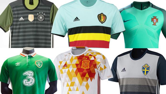 d6bb7b5b77846f Dit zijn de mooiste en lelijkste shirts op het EK   Sport   AD.nl