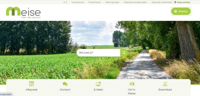 De nieuwe website van de gemeente Meise.
